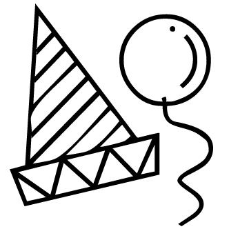 Vector de Gorro De Cumpleanos