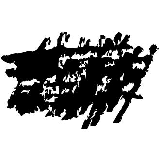 Vector de Rallas De Lapiz