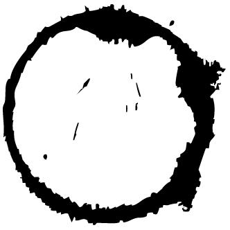 Vector de Mancha De Timbre