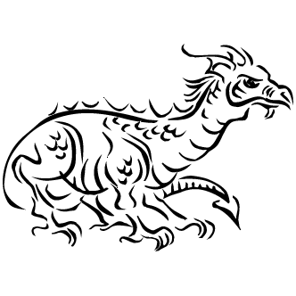 Vector de Dragon