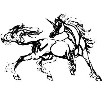 Vector de Unicornio