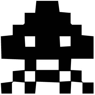 Vector de Space Invaders
