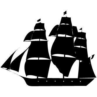 Vectores de Barco A Velas