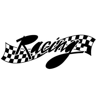 Vector de Banderas Racing