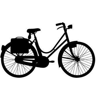 Vectores de Bicicletas De Paseo