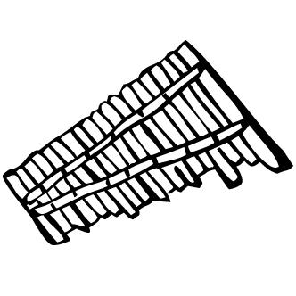Vector de Cilofono
