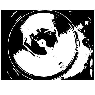 Vector de Dj Mesa Mescladora