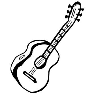 Vectores de Guitarra Acustica