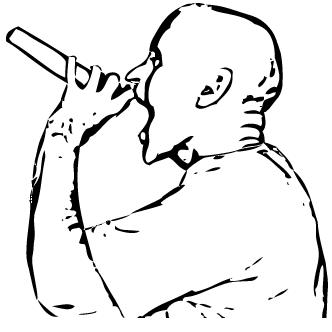 Vector de Microfono