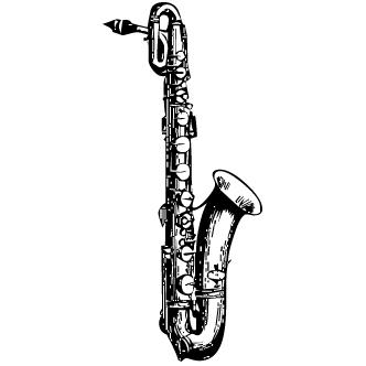 Vector de Saxofon