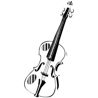 Vector de Violin