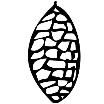 Vector de Fruto De Pino