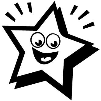 Vectores de Estrellas Con Cara