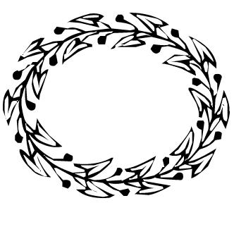 Vectores de Corona De Flores