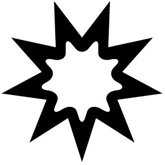 Vector de Estrella Cicodelica