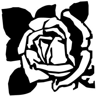 Vector de Rosa Capullo