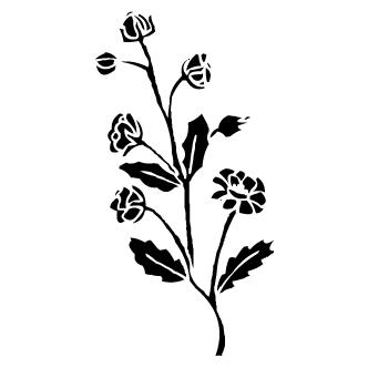 Vector de Siluetas de Flores - Todo Vector