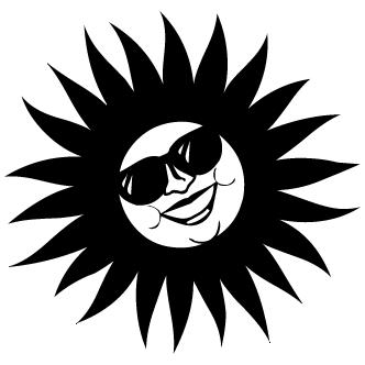Vectores de Sol con Cara - Todo Vector