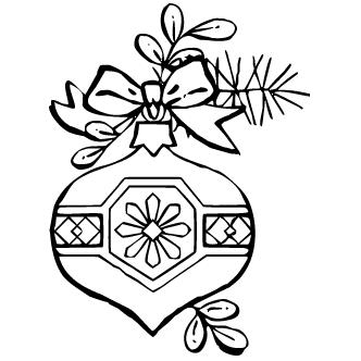 Vector de Adornos Pino De Navidad