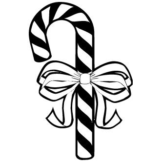 Vectores de Baston De Navidad