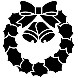 Vectores de Corona De Navidad