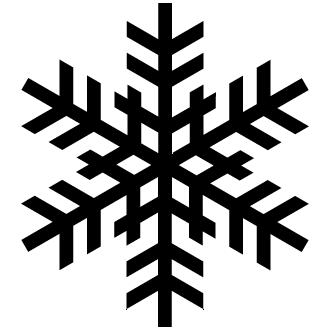 Vector de Navidad Copos De Nieve