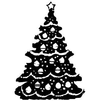 Vectores de Pino De Navidad