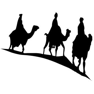 Vector de Reyes Magos