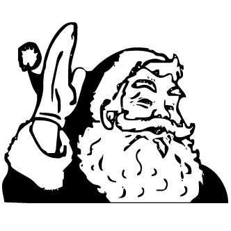 Vectores de Santa Claus