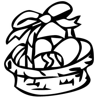 Vector de Canastas Con Huevos