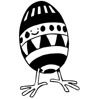 Vectores de Huevo Con Patas