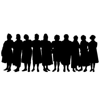 Vector de Grupos De Personas