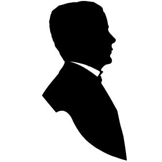 vectores de siluetas rostros elegantes   todo vector