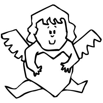 Vector de Angelito Animado