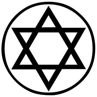 Vectores de Estrella De David