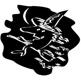Vector de Brujas Rostros