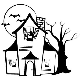 Vector de Casa De Terror