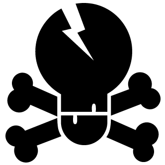 Vector de Craneo Calaberas