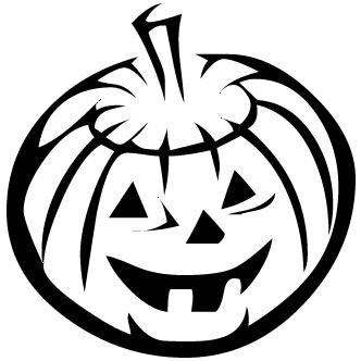 Vectores de Halloween Calabaza