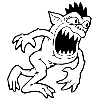 Vectores de Monstruos