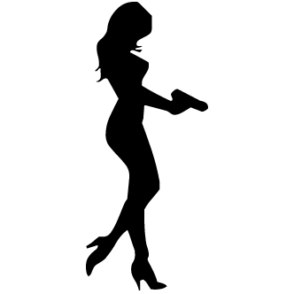 Vector de Mujer Armada - Todo Vector